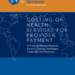 Cover of Costing Health Services for Provider Payment: a Practical Manual